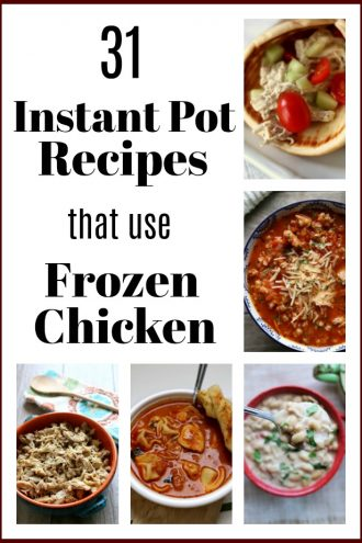Instant Pot Recipes with Frozen Chicken Breasts