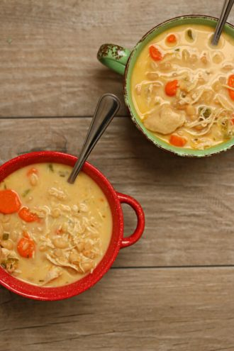 Slow Cooker Chicken and White Bean Soup