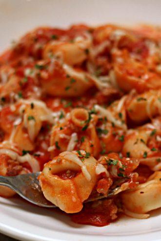 Instant Pot Italian Sausage Tortellini