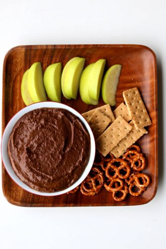 Instant Pot Chocolate Peanut Butter Hummus