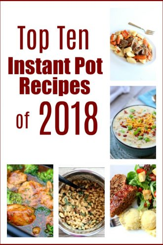 Top 10 Instant Pot Recipes of 2018