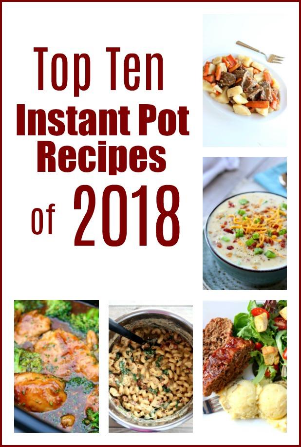 Top 10 Instant Pot recipes of 2018