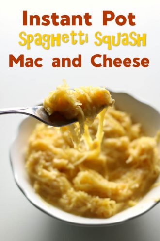 Instant Pot Spaghetti Squash Mac and Cheese