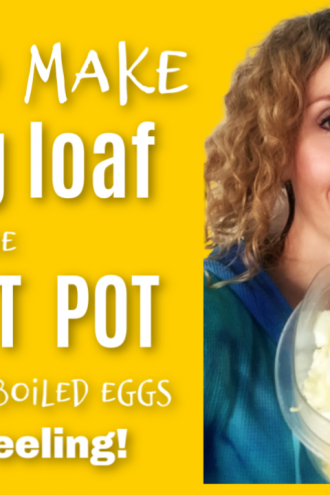 Instant Pot Egg Loaf