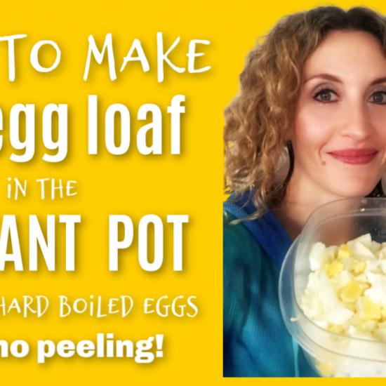 instant pot egg loaf