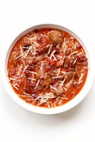 Instant Pot Meat Lovers Soup