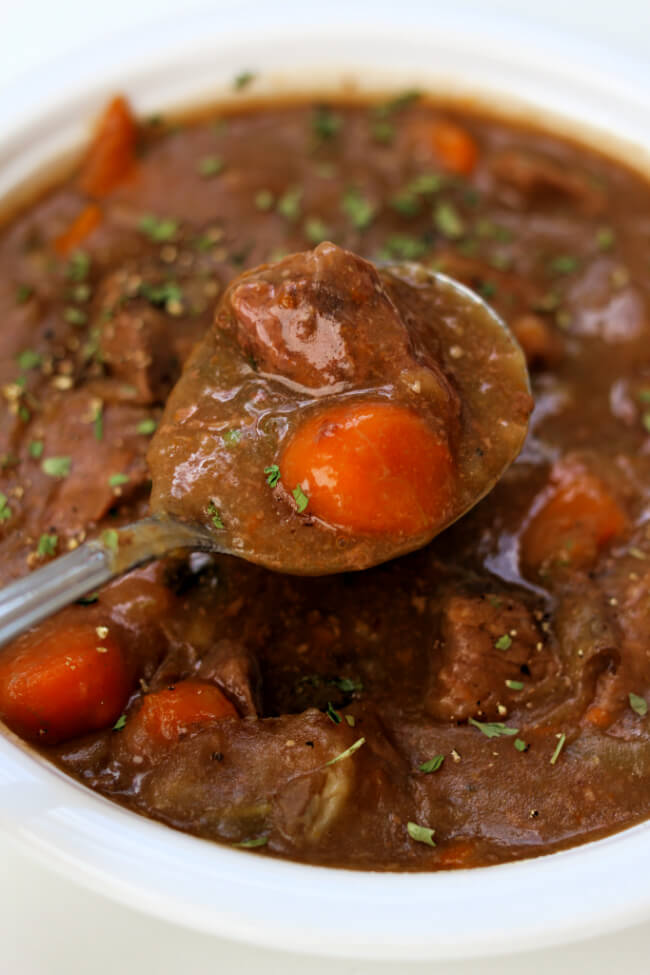 Slow Cooker Cheater Beef Stew 365 Days Of Slow Cooking And Pressure Cooking