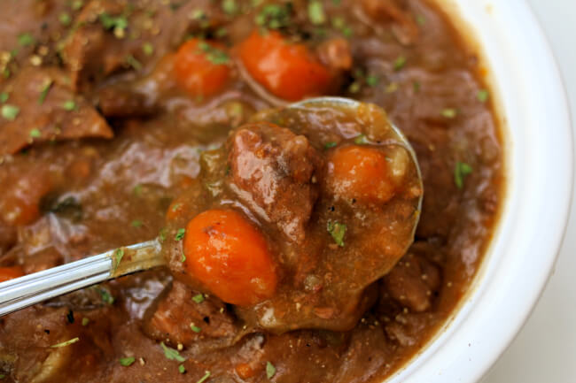 Back to School Instant Pot Recipes--Cheater Beef Stew