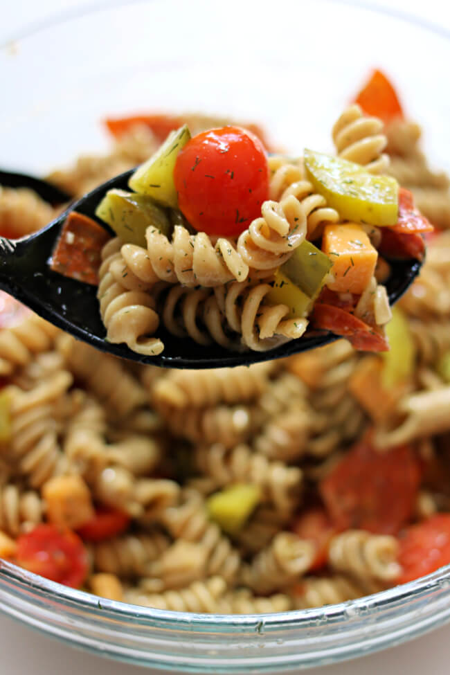 Instant Pot Dill Pickle Pasta Salad 365 Days Of Slow Cooking And Pressure Cooking