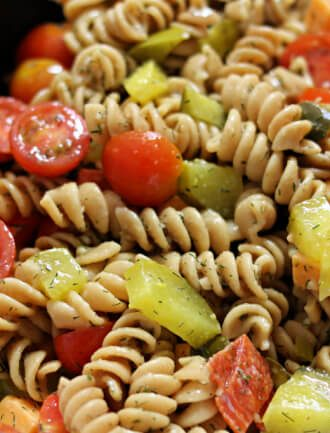 Instant Pot Dill Pickle Pasta Salad