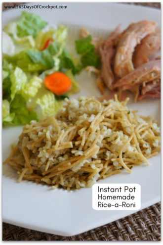 Instant Pot Homemade Rice-A-Roni
