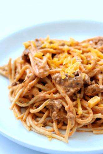 Instant Pot Million Dollar Spaghetti