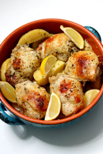 Instant Pot Greek Chicken and Potatoes