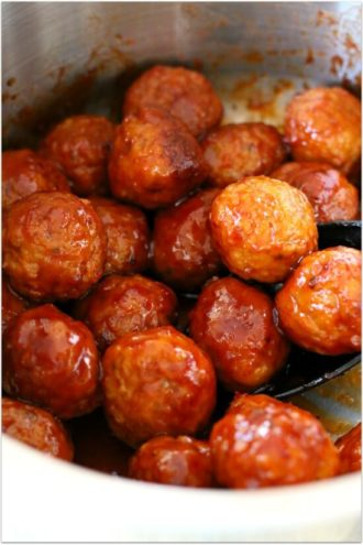 Instant Pot 3-Ingredient Meatballs