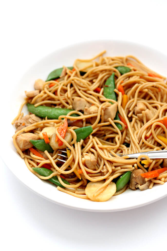 Instant Pot Chicken Lo Mein 365 Days Of Slow Cooking And Pressure Cooking