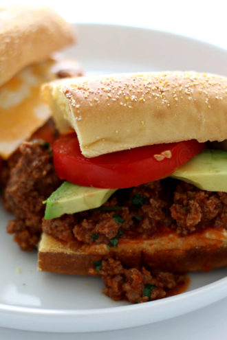 Slow Cooker Southwest Tavern Sandwiches