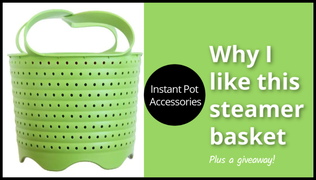 Are you looking for the perfect steamer basket for the Instant Pot? I have one that I think you're really going to like!