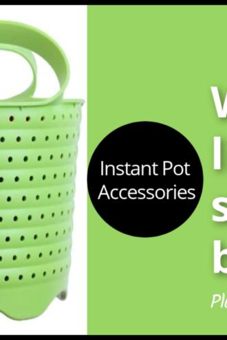 Steamer Basket for the Instant Pot