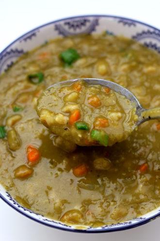 Instant Pot Dakota Smashed Pea and Barley Soup