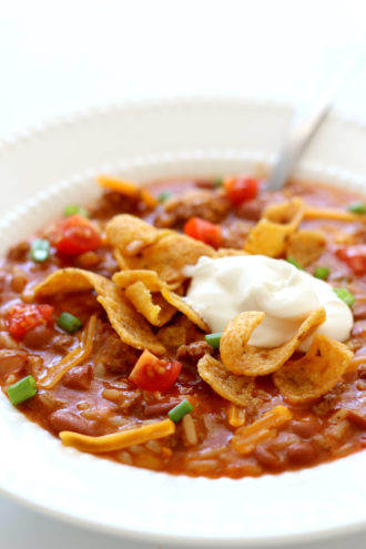Slow Cooker Frito Pie Chili