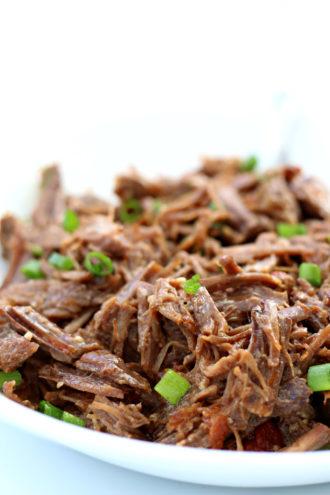 Instant Pot Tender Salsa Beef