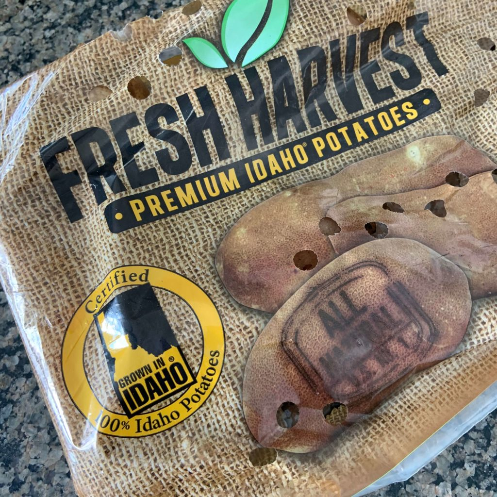fresh harvest premium idaho potatoes