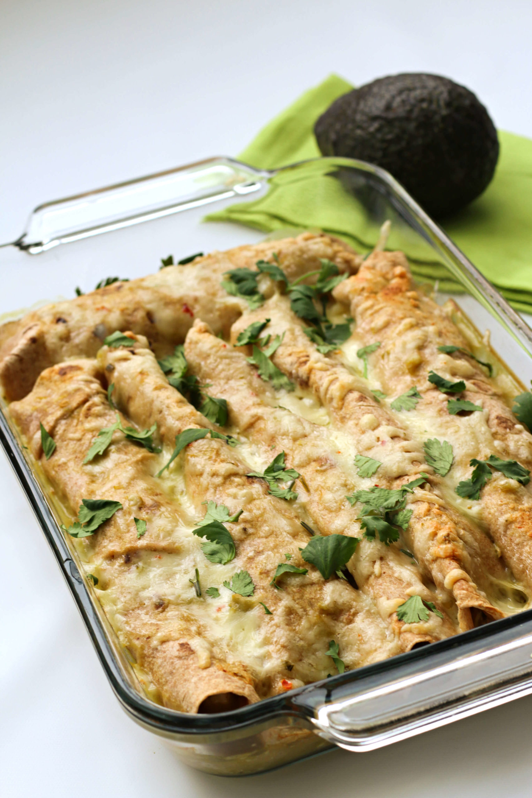 Instant Pot Green Chile Chicken Enchiladas 365 Days Of Slow Cooking And Pressure Cooking