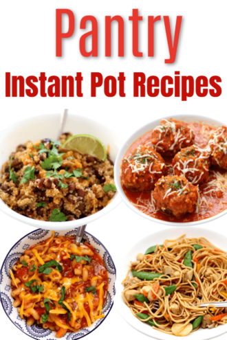 7 Pantry Instant Pot Recipes