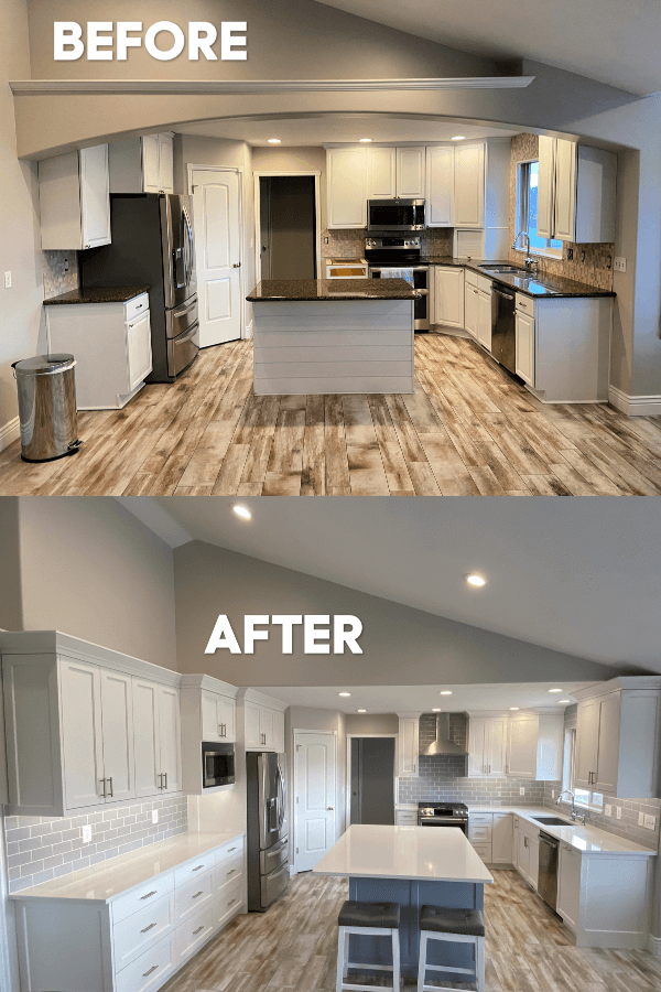 Kitchen Remodel Before And After 365 Days Of Slow Cooking And Pressure Cooking