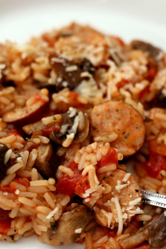 Instant Pot Sausage Rice
