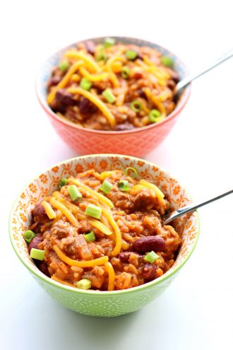 Instant Pot Chili Cheese Rice