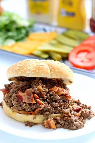 Instant Pot Crumbly Burgers