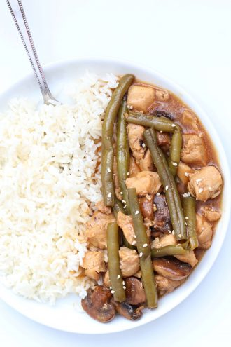 Instant Pot Mushroom Chicken with Green Beans