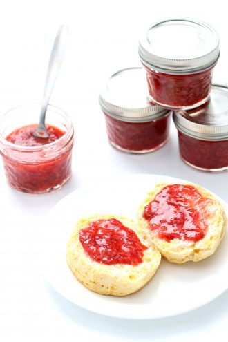 Instant Pot 3-Ingredient Strawberry Jam