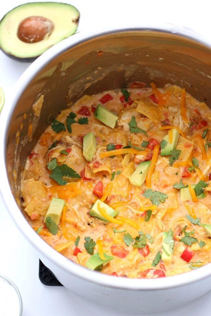 cheesy casserole in instant pot