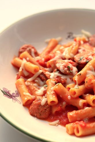 Instant Pot Rigatoni and Sausage