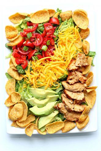 Instant Pot Chicken Taco Salad