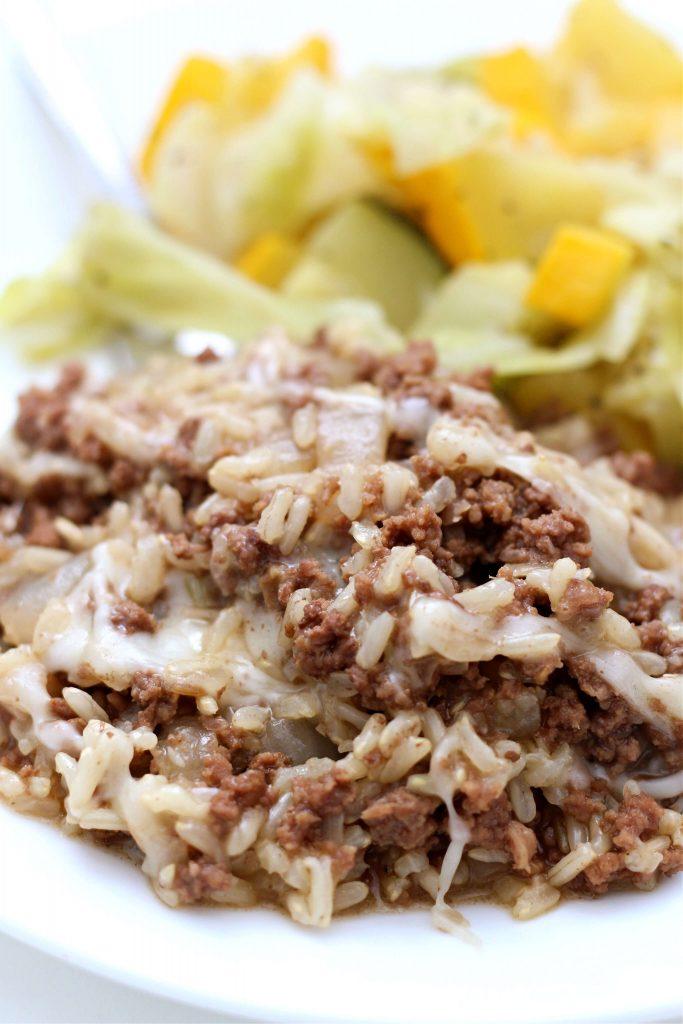 french onion rice recipe