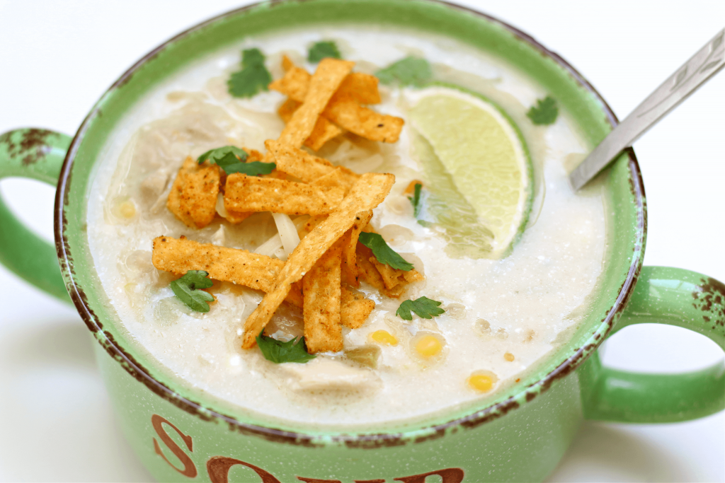 Instant Pot Green Enchiladas Chicken Soup