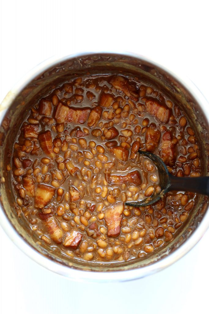 boston baked beans in the instant pot