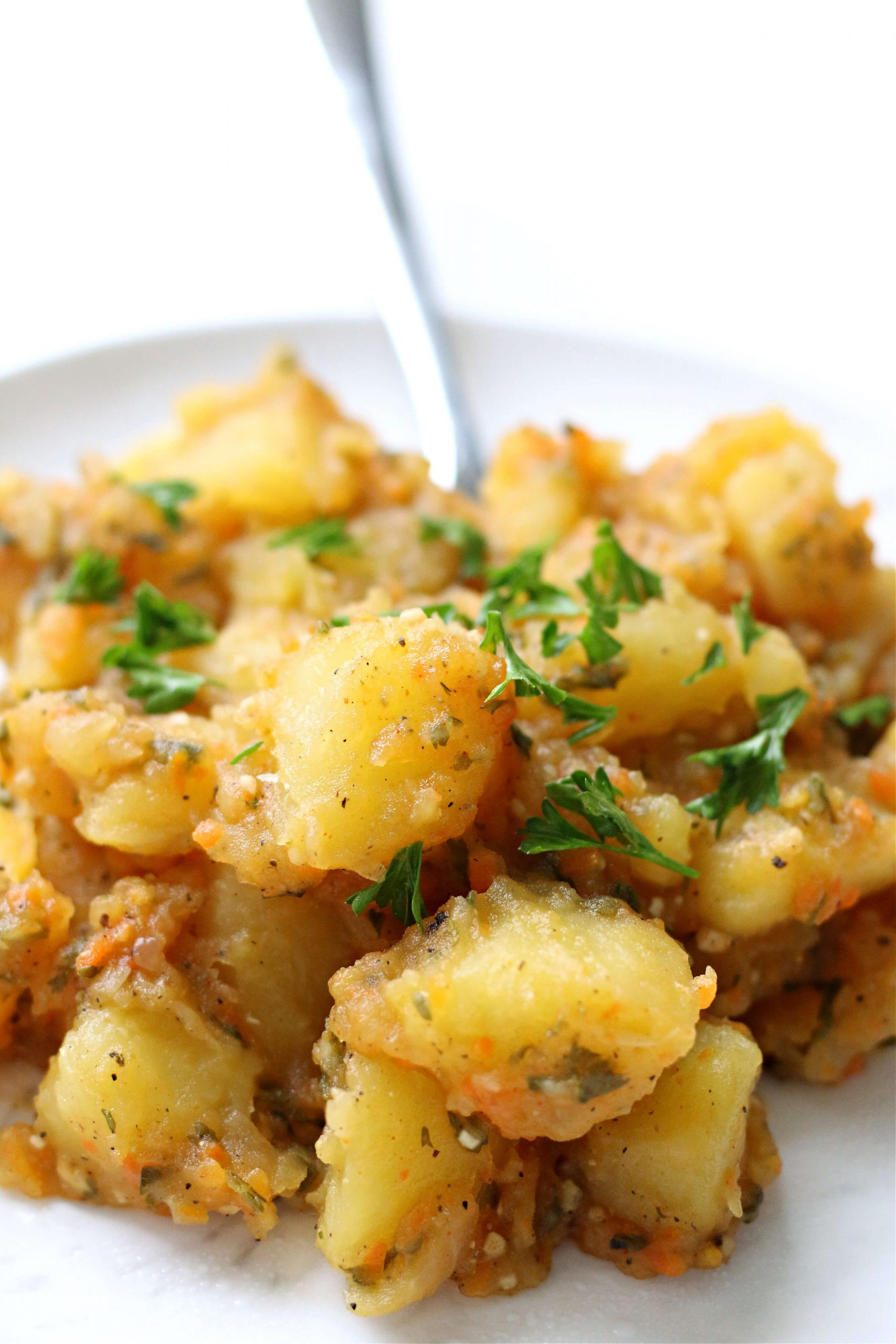 Instant Pot Basque Potatoes - 365 Days of Slow Cooking and Pressure Cooking