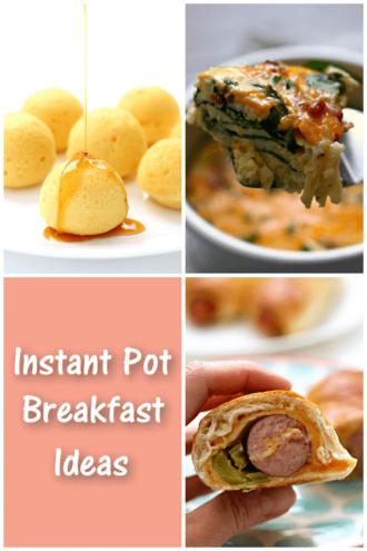 Instant Pot Weekend Breakfast Ideas