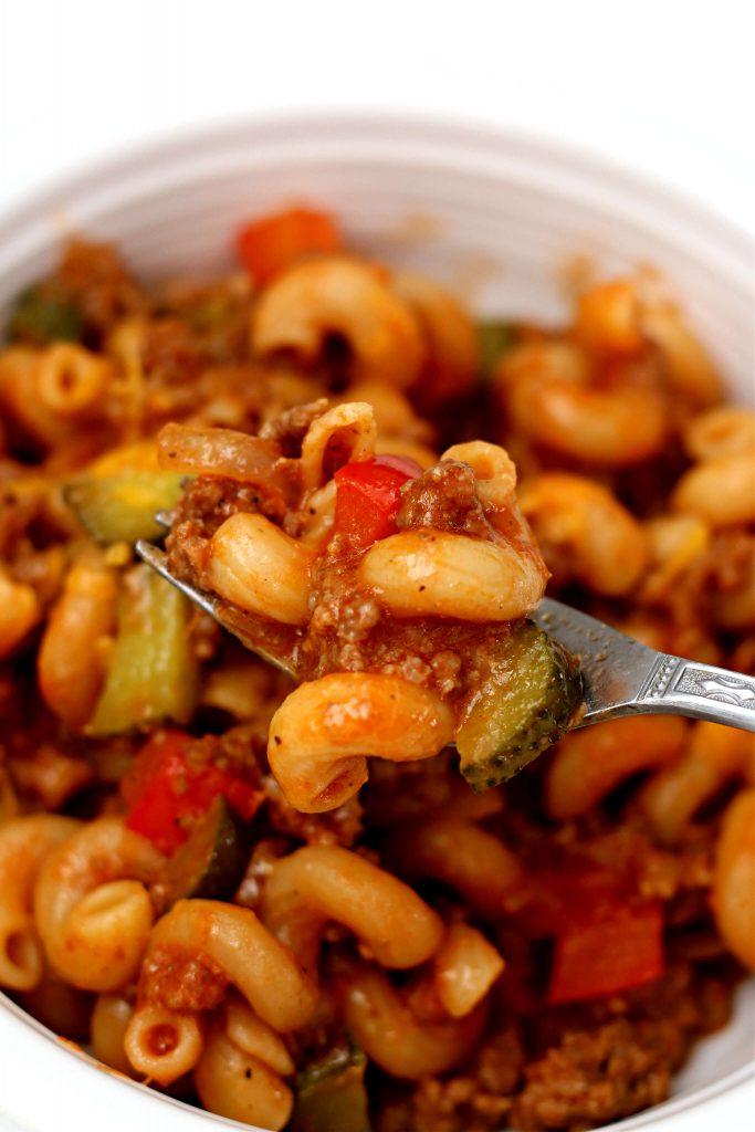 instant pot sloppy joe casserole recipe