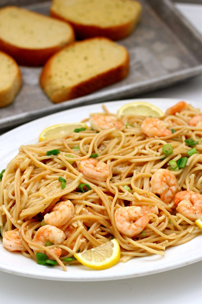 shrimp scampi instant pot recipe