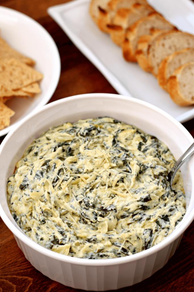 instant pot recipe spinach artichoke dip