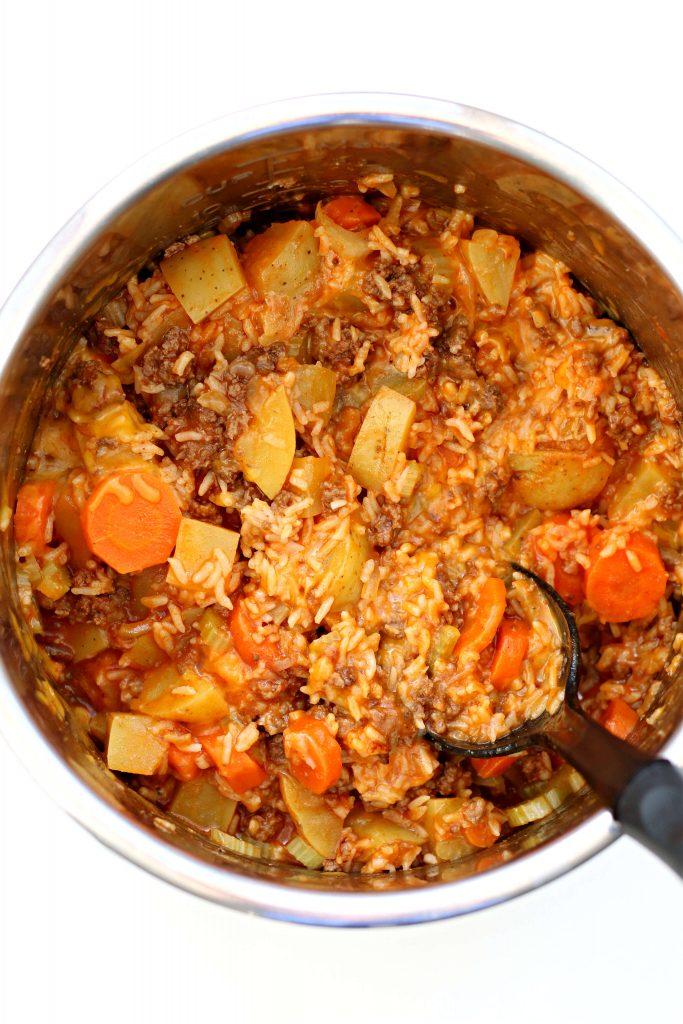 Instant Pot Kitchen Sink Casserole