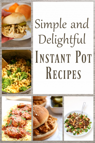 12 Simple and Delightful Instant Pot Recipes