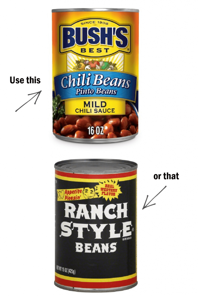 What are ranch style beans?