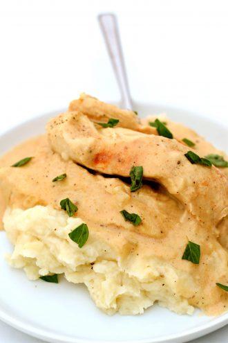 Instant Pot Creamy Garlic Chicken