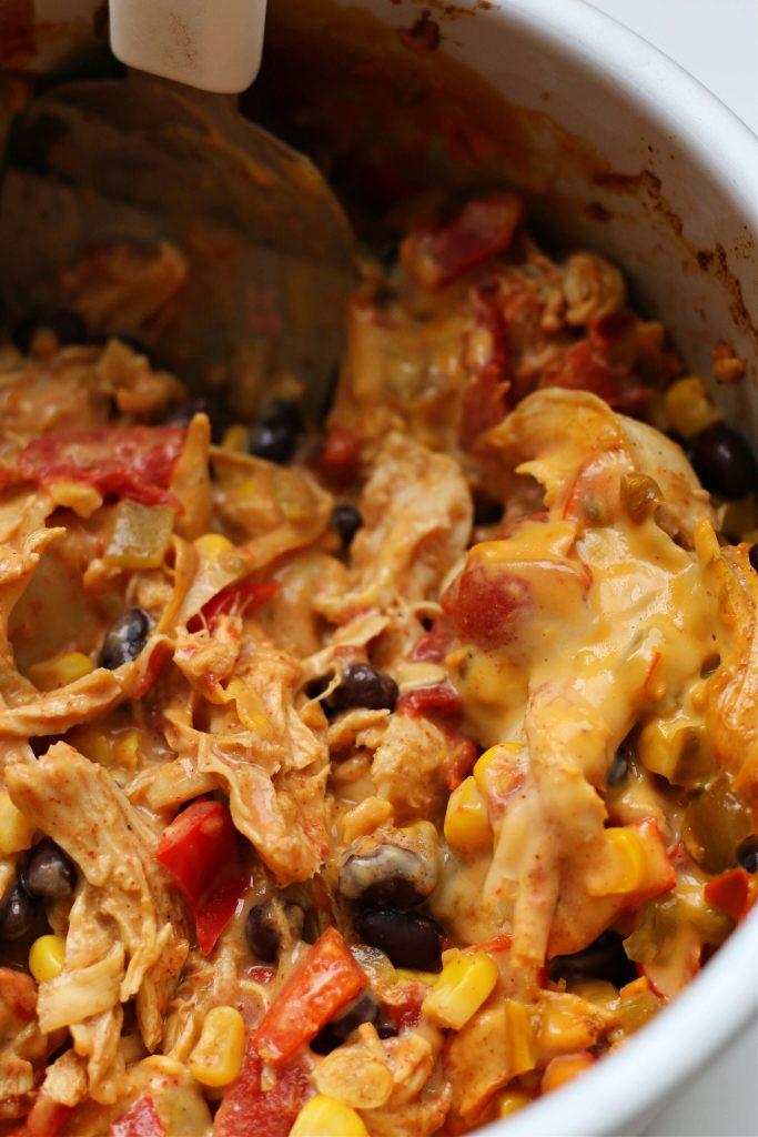 Instant Pot Chicken Queso Lasagna